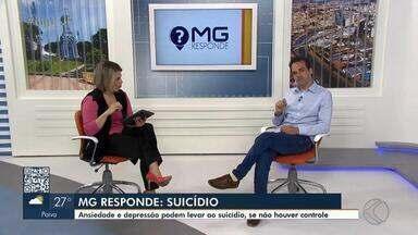 """MG Responde: Psiquiatra de Juiz de Fora orienta prevenção ao suicídio - Neste mês, a Campanha """"Setembro Amarelo"""" celebra o mês de valorização da vida. Confira a programação em Juiz de Fora e Barbacena."""