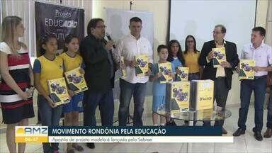 Movimento Rondônia Pela Educação realiza reunião de conselho em Porto Velho - Foi lançada uma apostila que ajudará alunos do quinto ano do ensino fundamental