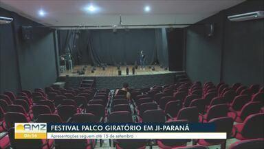 Apresentações do Palco Giratório iniciam no Teatro Dominguinhos em Ji-Paraná - Atores do espetáculo já se apresentaram por todo o Brasil