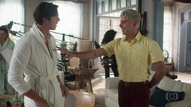 Willian visita Pablo no trabalho - Willian e Pablo tem uma discussão da relação