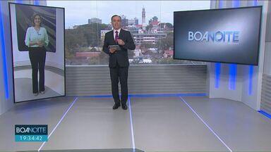 Sandro Dalpícolo vai apresentar o JN neste fim de semana - O apresentador do Boa Noite Paraná de Curitiba vai representar o Paraná na bancada do jornal mais visto do país.