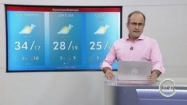 Confira previsão do tempo para esta quarta-feira - Temperaturas estão em elevação.