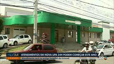 Nova UPA de Ponta Grossa vai funcionar no antigo hospital Unimed - Prefeitura anunciou abertura do atendimento 24 horas para ainda este ano.