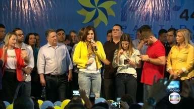 Tribunal Superior Eleitoral decide manter Rosinha Garotinha inelegível por 8 anos - Ela é acusada de abuso de poder político enquanto foi prefeita em Campos dos Goytacazes, no Rio.