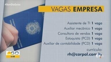 Veja mais vagas de empregos disponíveis para Goiânia - Candidate-se!