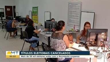 Mais de 20 mil títulos de eleitor foram cancelados em Tangará da Serra - Mais de 20 mil títulos de eleitor foram cancelados em Tangará da Serra