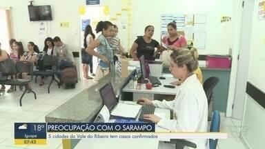 Vale do Ribeira registra aumento de casos confirmados de sarampo - Cinco cidades da região já registraram casos confirmados da doença.