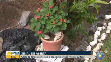 Dengue na Paraíba; aumento de 43,65% em relação ao mesmo período do ano passado - Confira os detalhes com o repórter Ítalo Di Lucena.