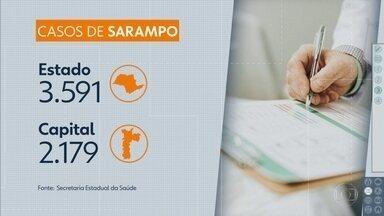 Casos de dengue e sarampo aumentam em São Paulo - Mais de 400 mil pessoas tiveram dengue e 3.500 pegaram sarampo.
