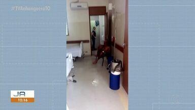Acompanhante precisa limpar quarto de paciente na área de oncologia do HGP - Acompanhante precisa limpar quarto de paciente na área de oncologia do HGP