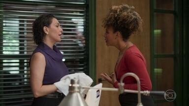 Gisele descobre que Mario e Nana se beijaram - Nana conta que tudo foi muito rápido e que não vai contar para Diogo