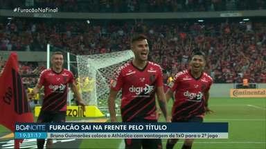 Athletico sai na vantagem no primeiro jogo da final da Copa do Brasil - Segundo jogo acontece na casa do Internacional, em Porto Alegre, na próxima quarta-feira (18).