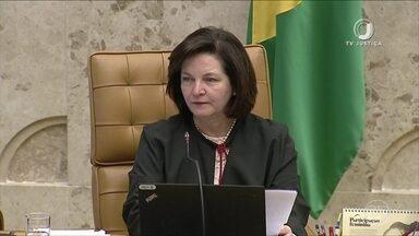 Em sua última sessão no STF, Dodge pede atenção a ameaças à democracia - Raquel Dodge, primeira mulher a ocupar o cargo de procuradora-geral da República, está se despedindo do mandato.
