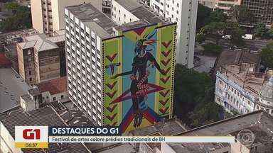 G1 no BDMG: Festival Cura em BH colore a Lagoinha com arte e música - A arte visual é acompanhada de música, gastronomia e rodas de conversa.