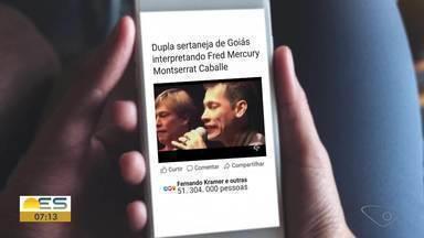 Música na Conversa: Edu Henning alerta sobre as 'fake news musicais' na internet - Dupla sertaneja identificada como Goiana, na verdade é capixaba,