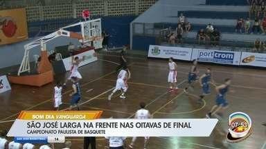 São José vence Osasco fora de casa e larga na frente nas oitavas do Paulista de Basquete - Equipe do Vale do Paraíba está a uma vitória da classificação às quartas de final do torneio