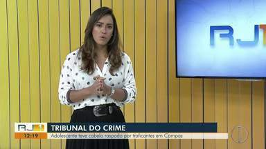Adolescente é mantida em cativeiro e tem o cabelo raspado em Campos - Segundo a PM, o crimes foram cometidos por traficantes.