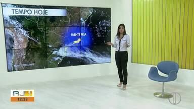 Confira a previsão do tempo para as cidades do interior do Rio - Veja as temperaturas para esta sexta-feira (13).