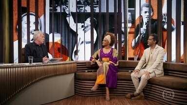 Luciana e Jair falam de importância de 'O Fino da Bossa' para carreira de Jair Rodrigues - Irmãos também fala da relação do pai com Pelé