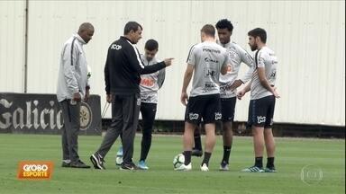 Corinthians se prepara para enfrentar Fluminense e aposta na vitória - Corinthians se prepara para enfrentar Fluminense e aposta na vitória
