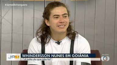Humorista Whinderson Nunes apresenta seu novo stand-up, em Goiânia - Apresentação acontece no Goiânia Arena.