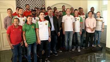 Sampaio Corrêa embarca para Sergipe em busca do quarto título do Campeonato Brasileiro - Conquista do título é o segundo objetivo do ano.