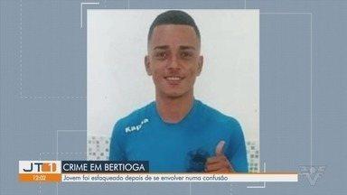 Jogador de futebol de Bertioga é morto após levar facada em briga - O jovem chegou a ser atendido, no entanto, não resistiu aos ferimentos.