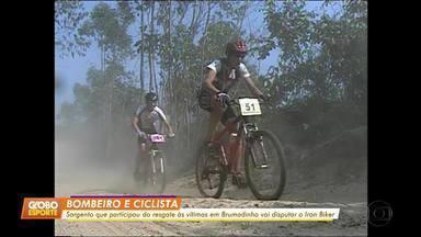 Bombeiro e ciclista: sargento que ajudou em resgate em Brumadinho disputará o Iron Biker - Bombeiro e ciclista: sargento que ajudou em resgate em Brumadinho disputará o Iron Biker