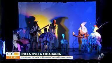 Projeto beneficia estudantes da rede pública de Cascavel - Saiba mais em g1.com.br/ce