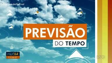 Fim de semana de sol e calor na maior parte do estado - Em Londrina a máxima chega aos 34º. No domingo também não chove, a máxima chega aos 35º na cidade.