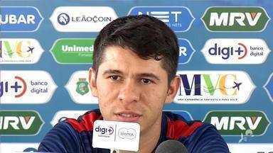 Osvaldo chega a jogo de número 100 pelo Fortaleza e se prepara fim do 1º turno - Osvaldo chega a jogo de número 100 pelo Fortaleza e se prepara fim do 1º turno
