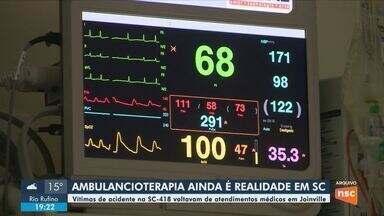 Vítimas de acidente são sepultados em Santa Cecília; ambulancioterapia ainda ocorre em SC - Vítimas de acidente são sepultados em Santa Cecília; ambulancioterapia ainda ocorre em SC