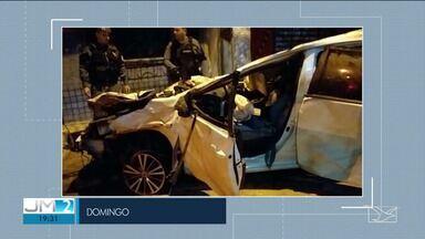 Quinta vítima de acidente na Avenida Carlos Cunha morre em São Luís - Ana Lourdes Silva Matos, de 20 anos, era uma das ocupantes do veículo que causou a morte de outras quatro pessoas