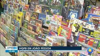 HQPB acontece neste sábado e domingo, em João Pessoa - Evento acontece até as 21h.