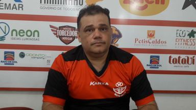 Miguel Júnior é anunciado como gerente de Futebol do Moto para 2020 - Profissional foi apresentado ao torcedor no evento de domingo (15), no CT Pereira dos Santos, alusivo aos 82 anos do clube.
