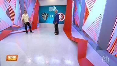 Márcio Rezende analisa os lances da arbitragem do jogo entre Atlético-MG e Internacional - Márcio Rezende analisa os lances da arbitragem do jogo entre Atlético-MG e Internacional