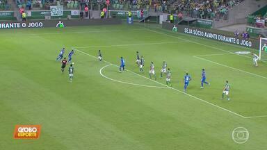 Cruzeiro perde para Palmeiras e fecha primeiro turno na zona de rebaixamento do Brasileiro - Cruzeiro perde para Palmeiras e fecha primeiro turno na zona de rebaixamento do Brasileiro