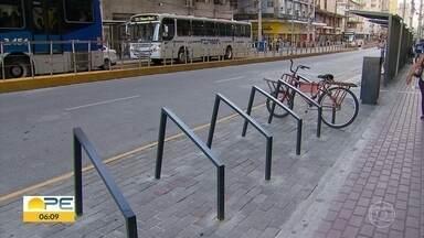 Obras da Avenida Conde da Boa Vista avançam e fases são adiantadas - Prefeitura do Recife divulgou novo cronograma dos serviços.