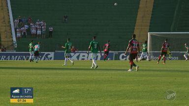 Depois de um mês, Bugre deixa a lanterna da Série B - Time está em 18° lugar, seguido do Fluminense e São Bento.