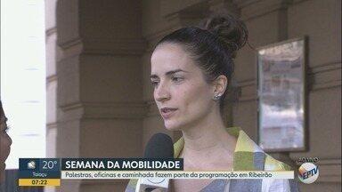 Ribeirão Preto recebe palestras e oficinas sobre mobilidade urbana - 'Centro é Legal' promove ações até domingo (22).