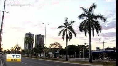 BDT mostra imagens do céu de Palmas na manhã desta terça-feira (17) - BDT mostra imagens do céu de Palmas na manhã desta terça-feira (17)