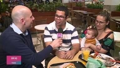 Ivo Madoglio vai às ruas descobrir quem gasta mais nos planejamentos - O repórter conversa com os pais sobre as festas infantis