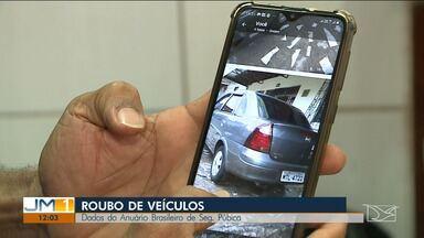 Mais de quatro mil veículos são roubados por ano no Maranhão - Número de furtos chega a quase três mil. Os dados são do anuário brasileiro de segurança pública.