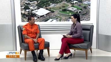 Corpo de Bombeiros fala sobre laudos técnicos em instituições de saúde de Roraima - O comandante Jefferson Abreu explica como funciona a autorização de prédios públicos e diz que o Hospital Geral de Roraima não possui permissão do Corpo de Bombeiros.