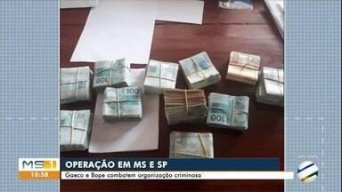 Gaeco e Bope fazem operação contra grupo especializado em distribuir cocaína - Mato Grosso do Sul e São Paulo estão na mira da investigação