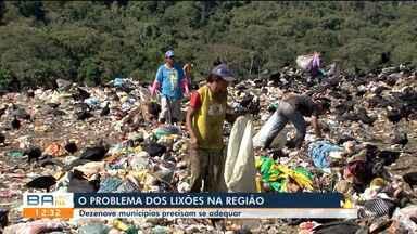 Municípios do sul do estado ainda precisam se adequar às normas nacionais para lixões - Cerca de dezenove cidades ao redor de Itabuna precisam se adequar ao Plano Nacional de Resíduos Sólidos.