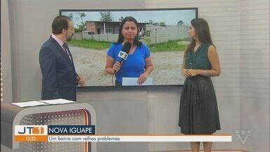 Moradores reclamam de más condições de bairro em Iguape - População afirma que problemas já existem no bairro há muito tempo.