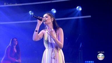 """Yolanda de Paulo canta """"Somewhere Only We Know"""" - Técnicos analisam a apresentação"""