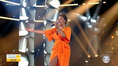 The Voice Brasil: baiana divide o palco com paulista na noite de terça-feira - Confira o desempenho da artista, que foi eliminada do programa.