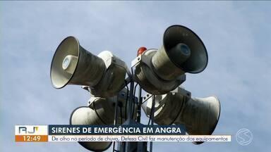 Defesa Civil realiza testes em sirene de alerta e alarme de emergência em Resende - Manutenção é para estar tudo em ordem para quando o período de chuva chegar, em novembro.